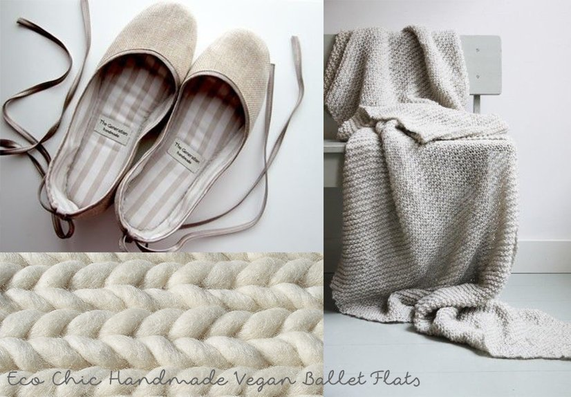 07_Eco Chic Handmade Vegan Ballet Flats